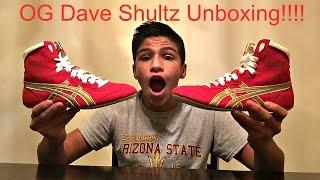 OG Dave Shultz(Tiger) Wrestling Shoe Unboxing