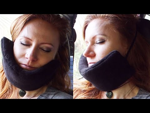DIY TRAVELING AN IDEA - GUIDE for weird but comfortable pillow for a long traveling by car or plane