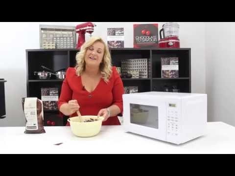 Tempering Chocolate In The Microwave With Kirsten Tibballs | Chocolate Book