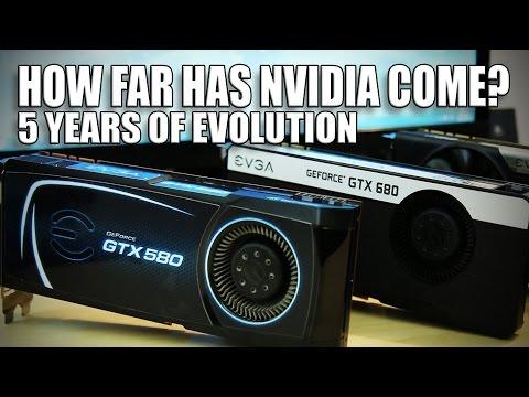 How far has NVIDIA come in 5 years? GPU Shootout
