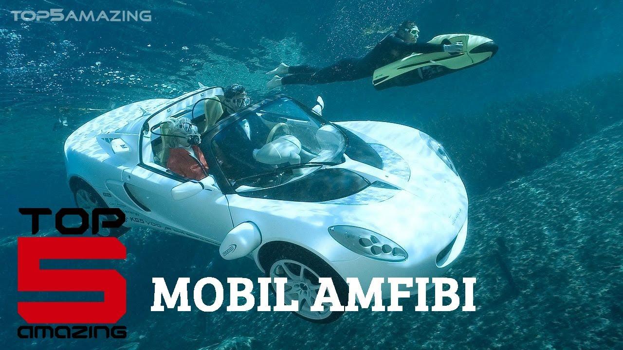 Top 5 Mobil Amfibi
