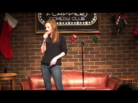 Anne-Marie Symons At Flappers Comedy Club