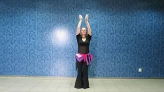 Arms&Hips Warm-Up/Oriental Dance/Разминка рук, бедер и чудесная мантра