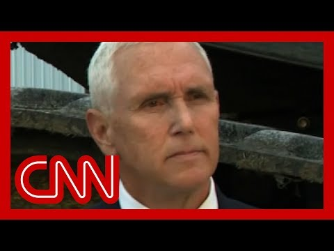 Anderson Cooper astonished by Pence's response to this question