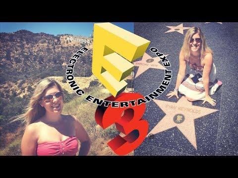 Hello USA - E3 2017   VLOG JustBecci