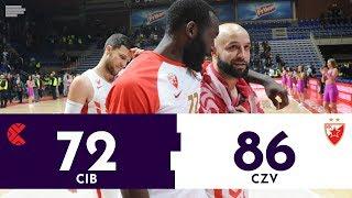 HIGHLIGHTS: Cibona - Crvena zvezda (72:86) | ABA liga