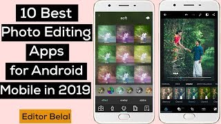 10 Best Photo Editing Apps for Android Mobile in 2019 | Editor Belal