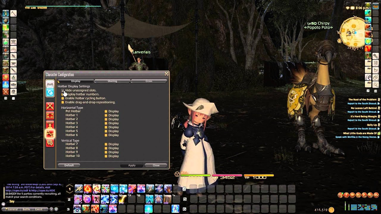 FFXIV new player tips, for when you first start