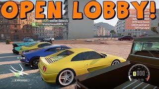 Forza Horizon 2 | Open Lobby | Cruising and Street Racing