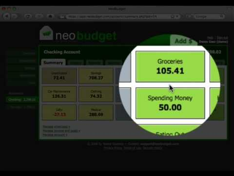 NeoBudget - online envelope budgeting - YouTube