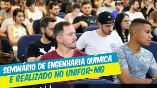 PROCESSOS DE FABRICAÇÃO DE CIMENTO E CERVEJA FORAM ABORDADOS NO SEMINÁRIO DE ENGENHARIA QUÍMICA 2018