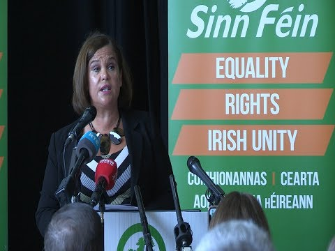 'Irish Unity the solution to tory Brexit' - Mary Lou McDonald