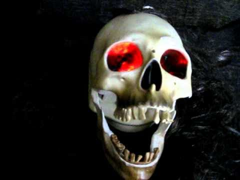 animated talking skull - Talking Skull Halloween