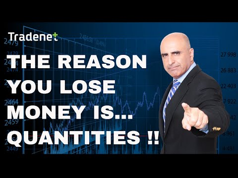 The reason you lose in day trading is... Trading quantities!