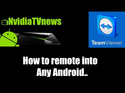 How To Remote Into Any Android Using Teamviewer