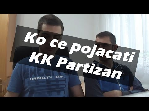 [FaceCam] Predlog za izbor igraca i sastav tima KK Partizan za sezonu 2017/18