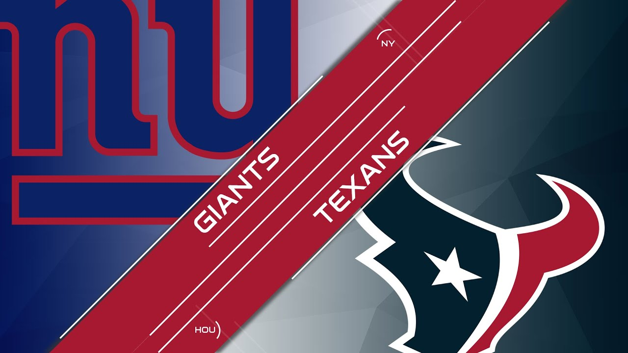 Image result for giants vs. texans