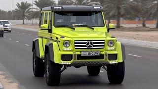 500HP Mercedes-Benz G 500 4x4² Stage 2 Dyno Run!