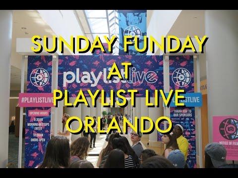 SUNDAY FUNDAY AT PLAYLIST LIVE ORLANDO!!