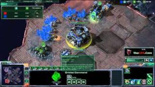 Starcraft 2 Pro Aggressive Tlo Vs Slayer Boxer (manofoneway) Epic Terran Mirror