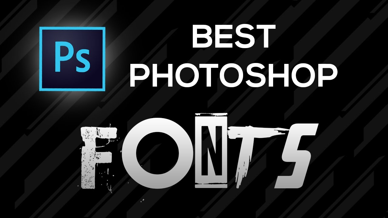 photoshop how to add fonts