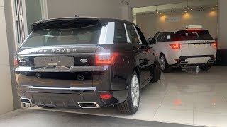 SUV Luxury Range Rover Sport HSE Dynamic V6 2019, Black & White Metalic