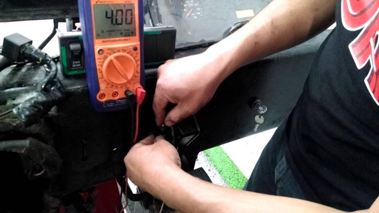 Comprobaci 243 N Del Sensor De Posici 243 N Del Pedal De