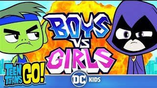 Teen Titans Go! in Italiano | Maschi contro femmine | DC Kids