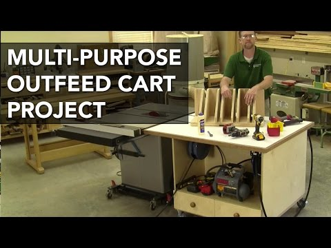 Multipurpose Outfeed Cart