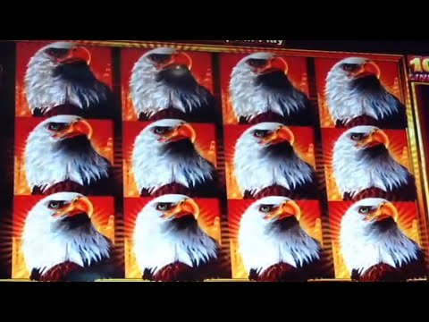 Jackpot Alert Massive Handpay Eagle Bucks
