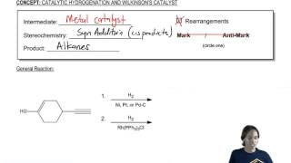 Catalytic Hydrogenation: Mechanism