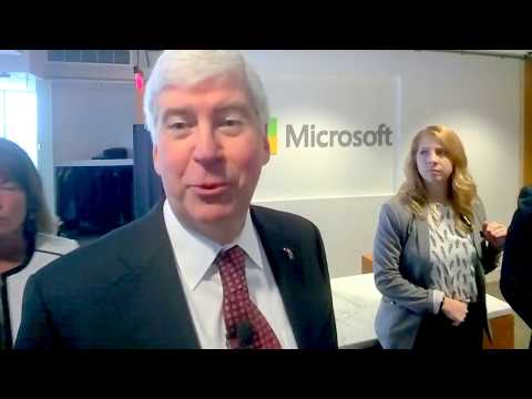Capitol Intel speaks Michigan Governor Rick Snyder on Dan Gilbert #AMAZONHQ2
