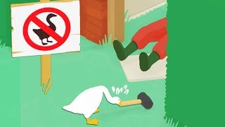 Committing As Many Felonies As Possible in Untitled Goose Game Video