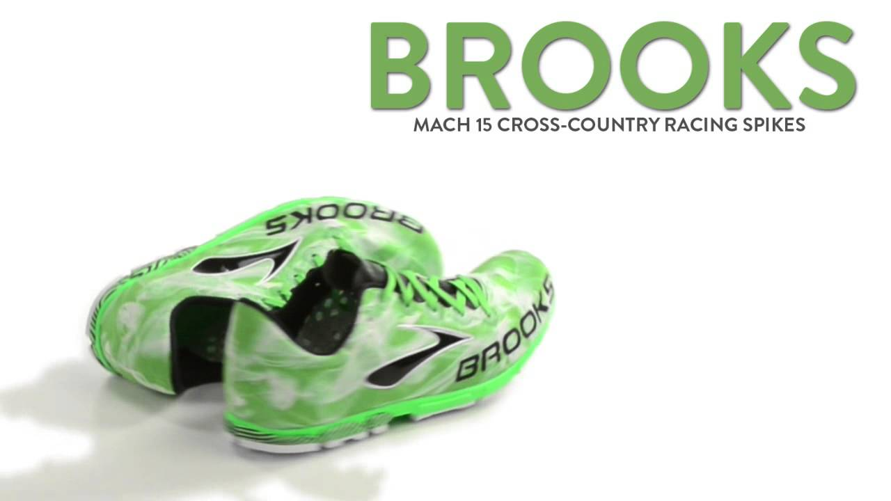 d6a395fde06 Brooks Mach 15 Cross-Country Racing Spikes (For Men) - YouTube