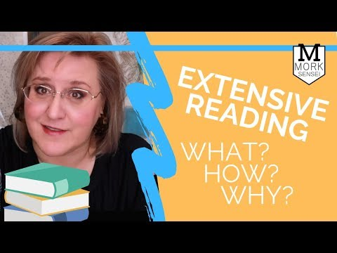 What is EXTENSIVE READING, and why (and how) should you do it?