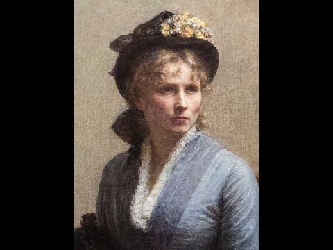 Henri Fantin-Latour (French, 1836-1904) - Paintings by Henri Fantin-Latour.