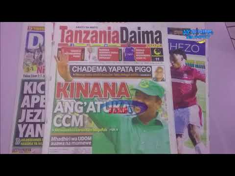 MAGAZETI MEI 28: Mali za CCM na wabadhirifu wake sambamba na usajili VPL ndio yaliyotawala