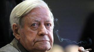 Sorge um Altkanzler - Helmut Schmidt auf Intensivstation
