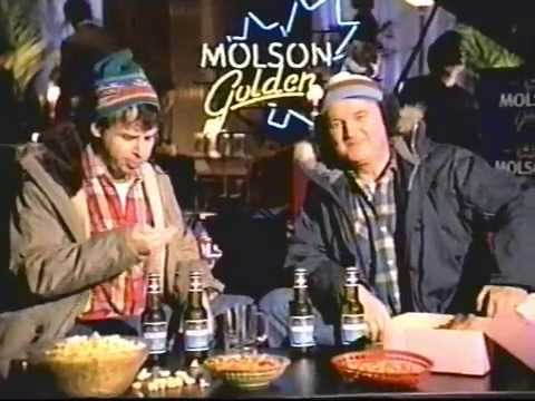 Molson Gold Commercial 1997 - Bob & Doug - YouTube