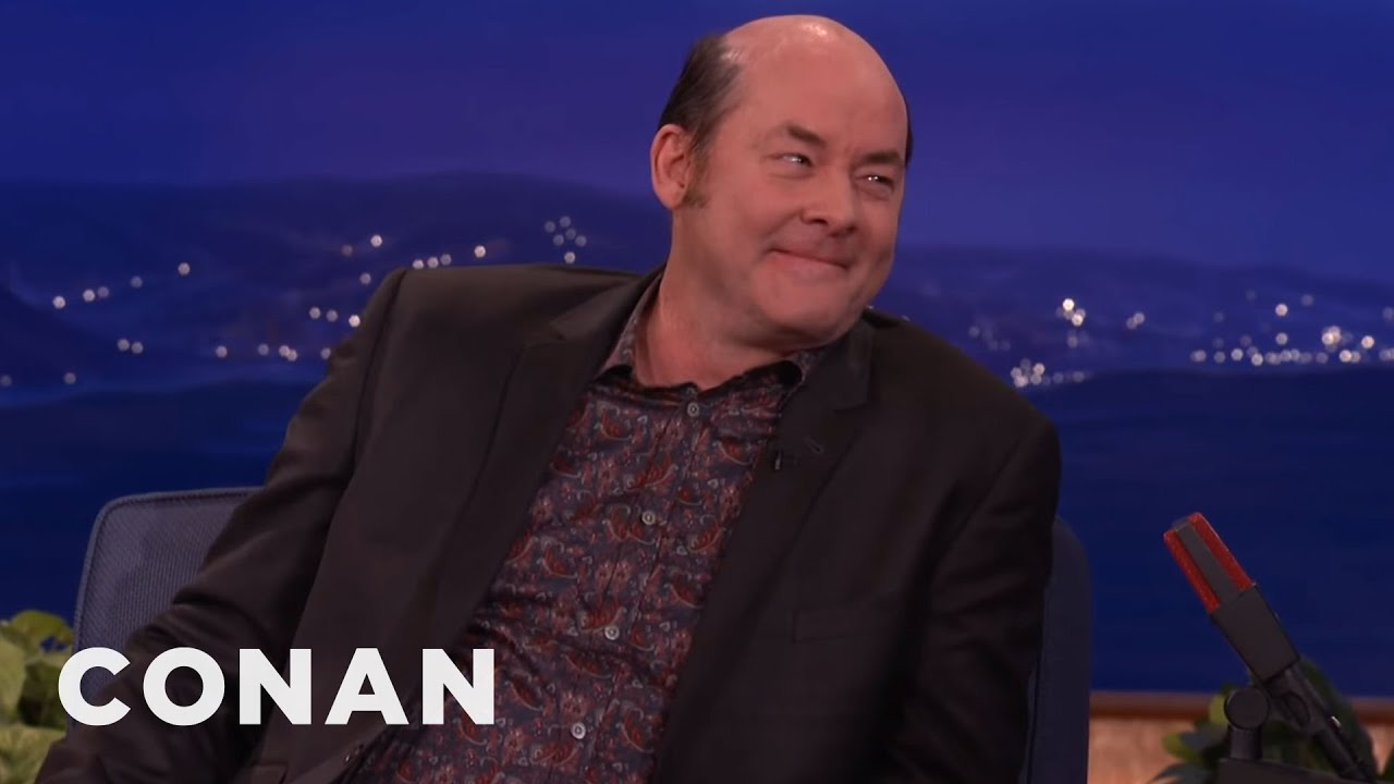 Download David Koechner's Dirty Hobo Character Frightens His Kids   CONAN on TBS