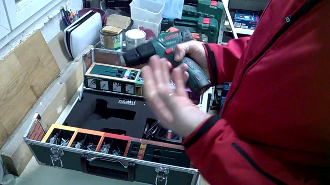 bosch psb 10.8 li - 2 color guide box - youtube