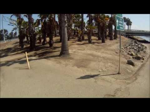 hector ana mission bay to dogs beach bike path