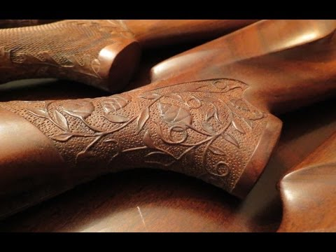 Carving and Stippling Your Gunstock - THE RIGHT WAY - Rex Reviews