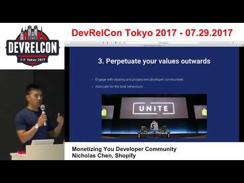 Monetizing Your Developer Community by Nicholas Chen, Shopify