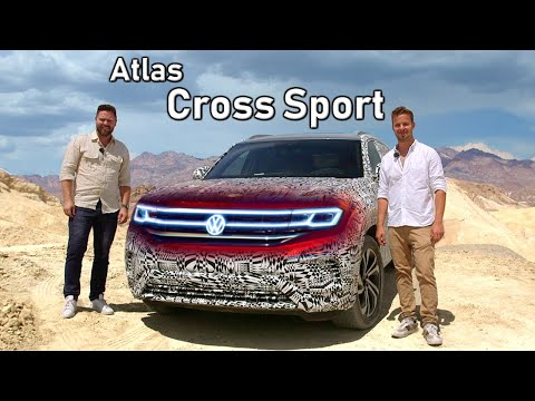 2020 Volkswagen Atlas Cross Sport PROTOTYPE Review // First Drive