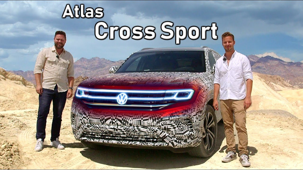2020 Volkswagen Atlas Cross Sport Prototype Review First Drive