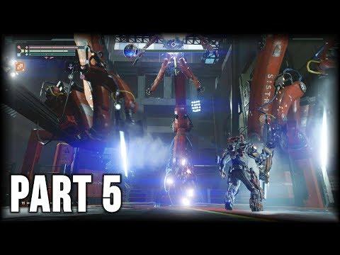 The Surge - 100% Walkthrough Part 5 [PS4] – Central Production B (Return)