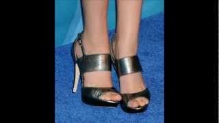 Victoria Justice's birthday feet