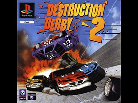 Destruction Derby 2 - Full Play Through