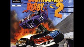 Destruction Derby 2 - Full Play Through
